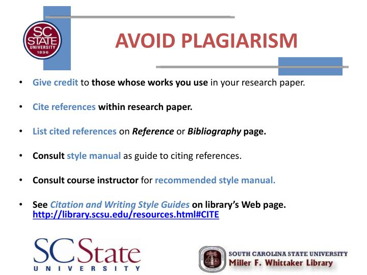 essay on how to avoid plagiarism In all academic work, and especially when writing papers, we are building upon the insights and words of others to avoid plagiarism.
