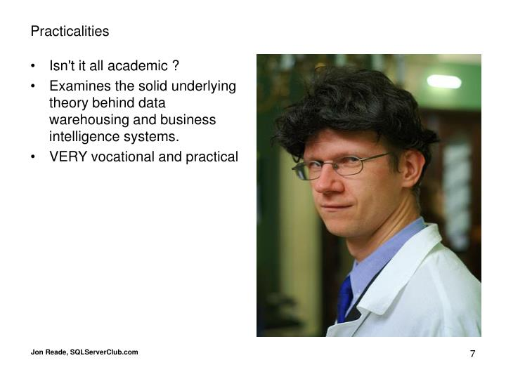 Isn't it all academic ?