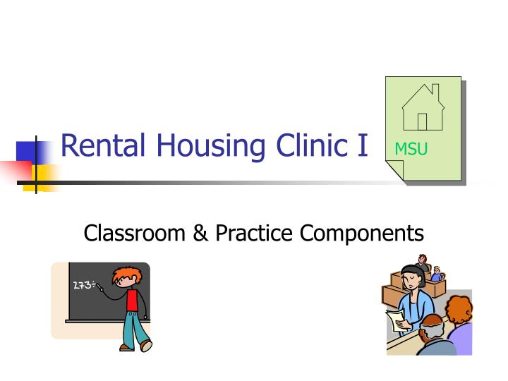 rental housing clinic i
