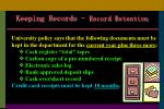keeping records record retention