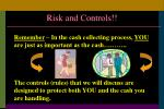 risk and controls