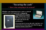 securing the cash2