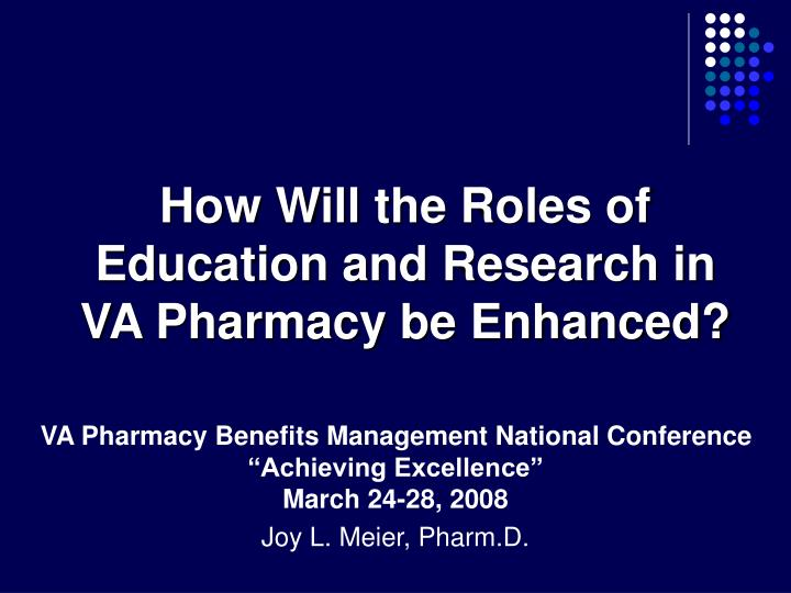 VA Pharmacy Benefits Management National Conference