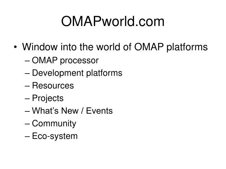 OMAPworld.com