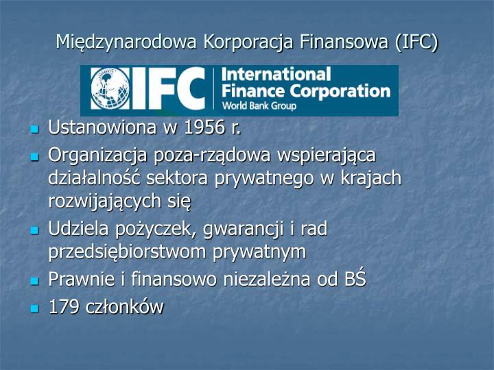 Międzynarodowa Korporacja Finansowa (IFC)