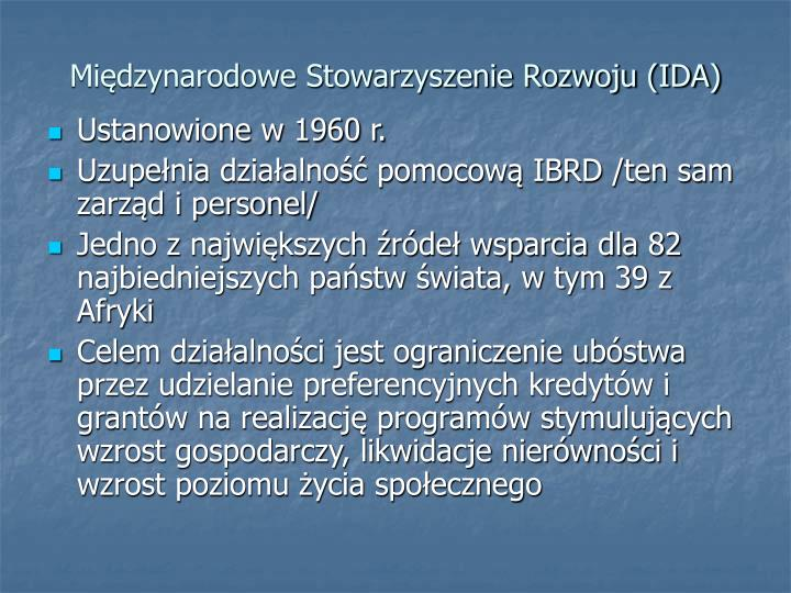 Międzynarodowe Stowarzyszenie Rozwoju (IDA)