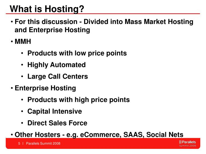 What is Hosting?