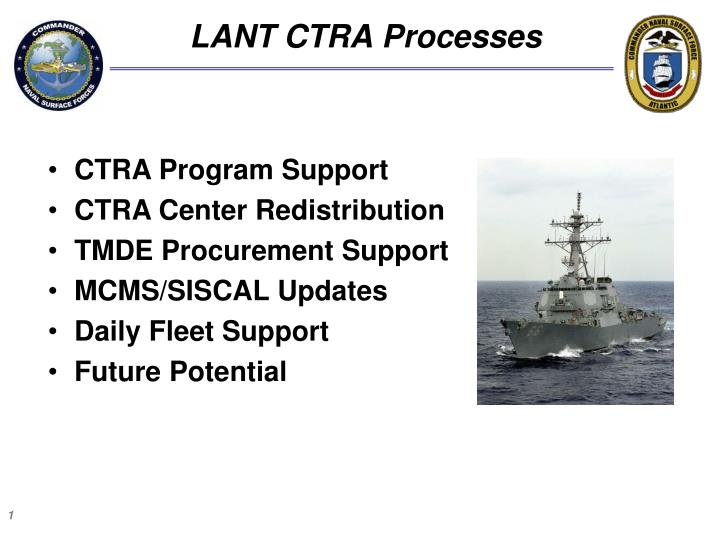Lant ctra processes