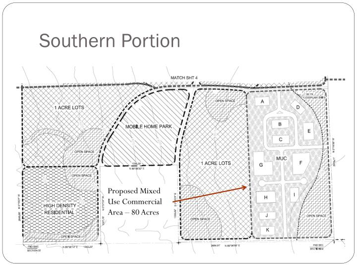 Southern Portion