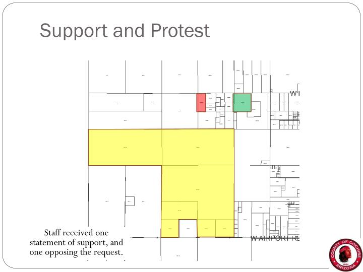 Support and Protest