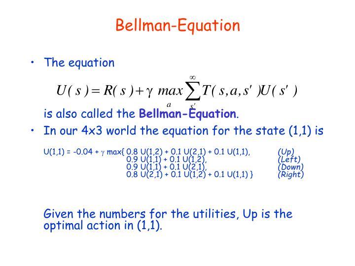 Bellman-Equation