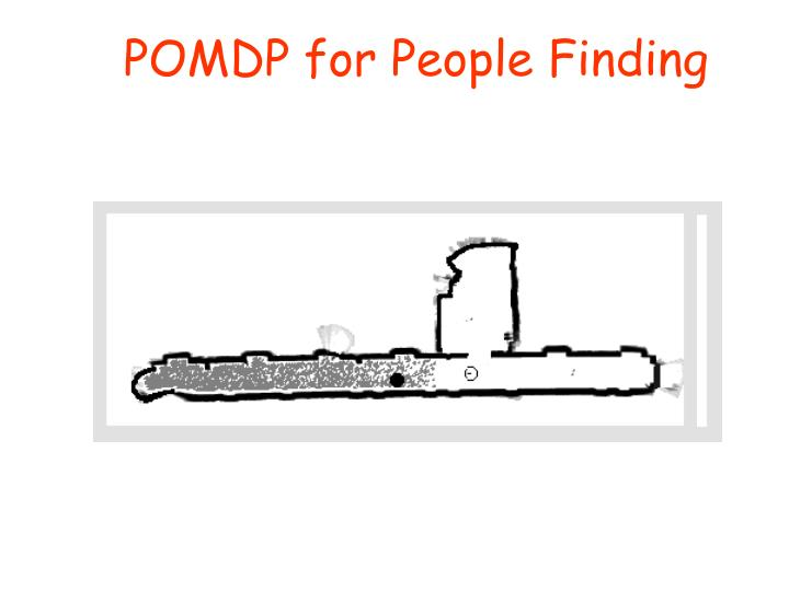 POMDP for People Finding