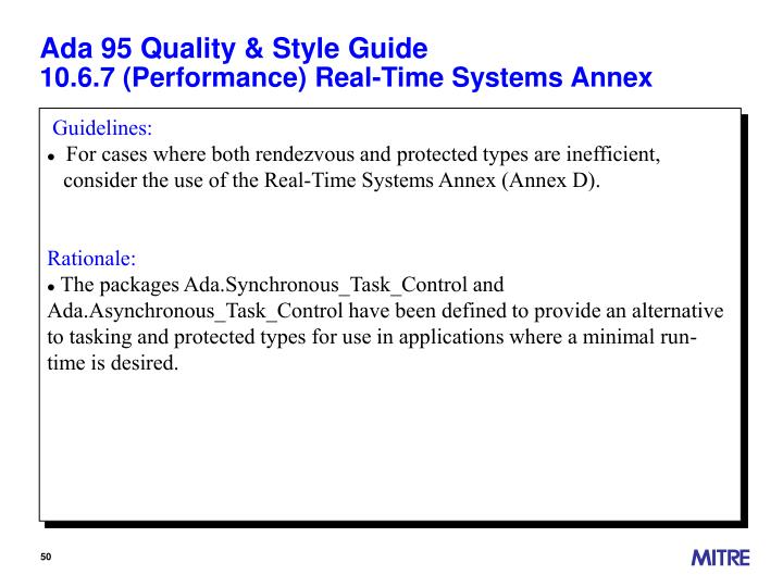 Ada 95 Quality & Style Guide