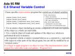 ada 95 rm c 6 shared variable control