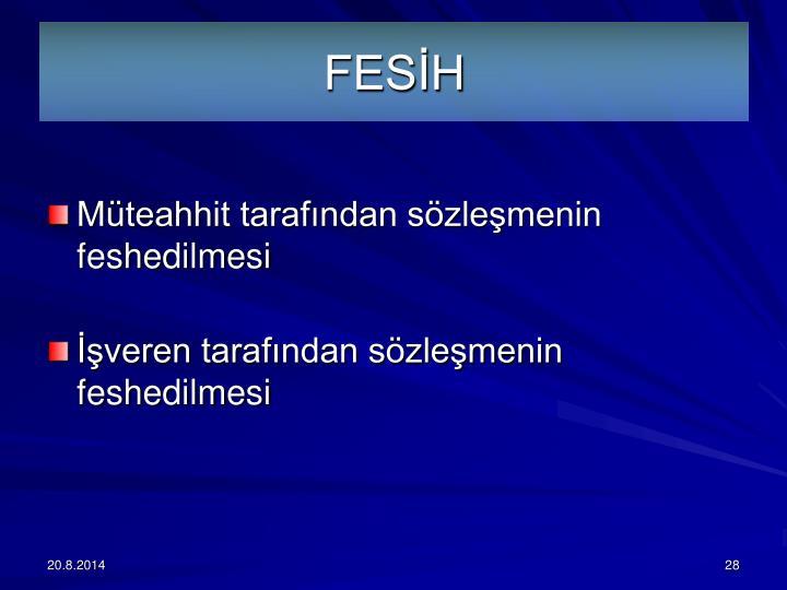 FESİH