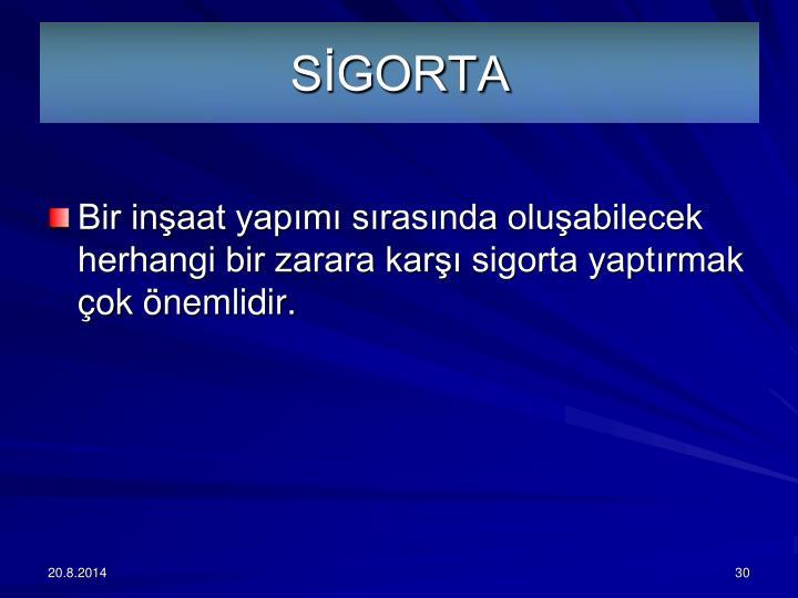SGORTA
