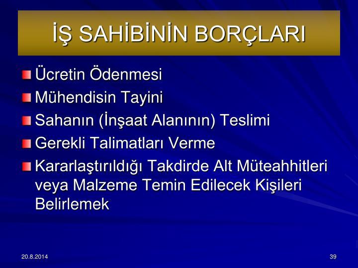 SAHBNN BORLARI