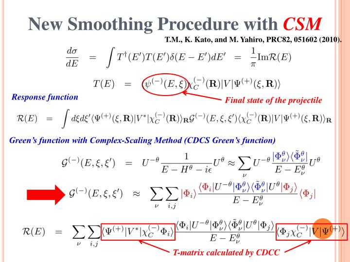 New Smoothing Procedure with