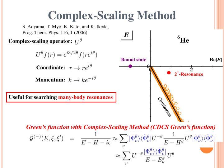 Complex-Scaling Method