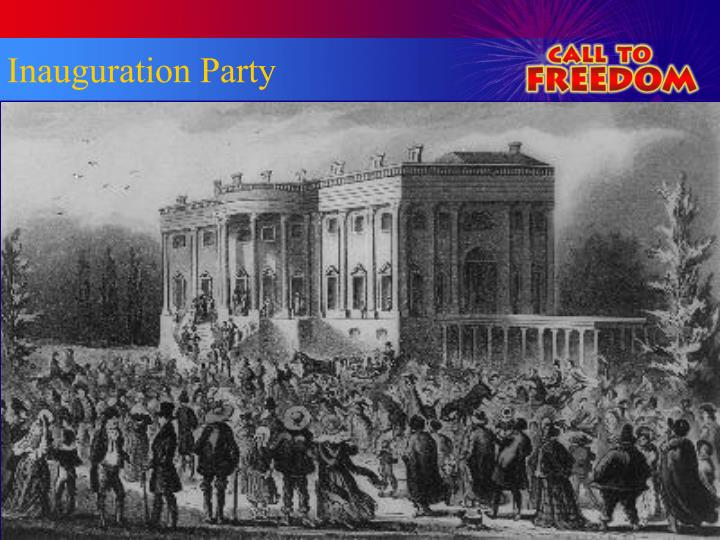 Inauguration Party