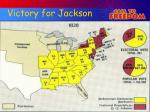 victory for jackson