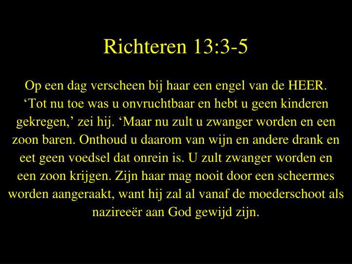 Richteren 13:3-5