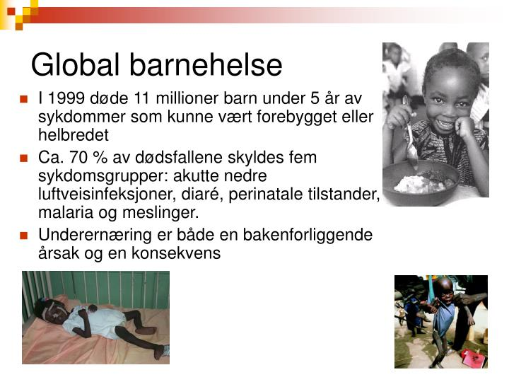 Global barnehelse