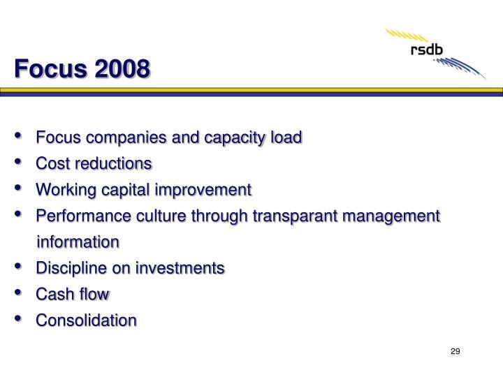 Focus 2008