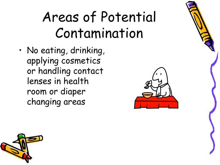 Areas of Potential Contamination