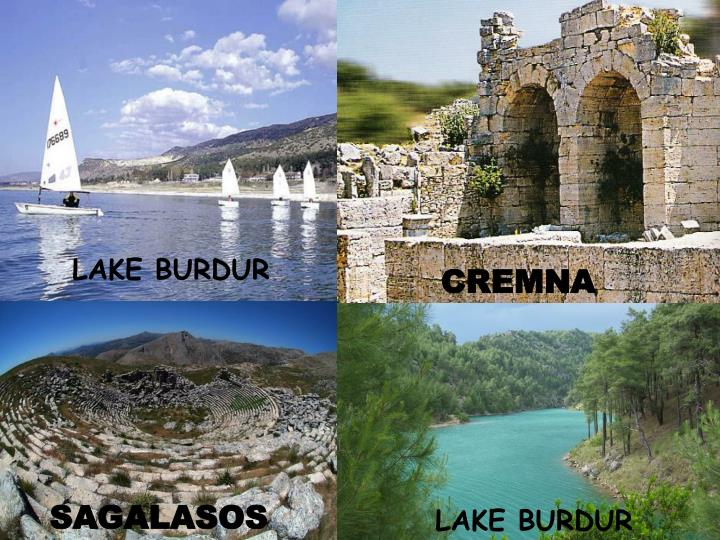 LAKE BURDUR