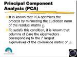 principal component analysis pca1