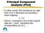 principal component analysis pca2