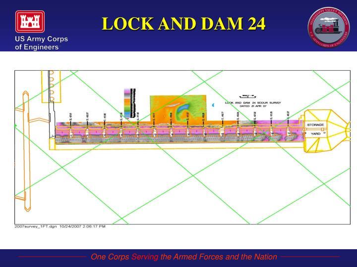 LOCK AND DAM 24