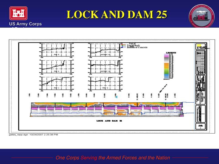 LOCK AND DAM 25