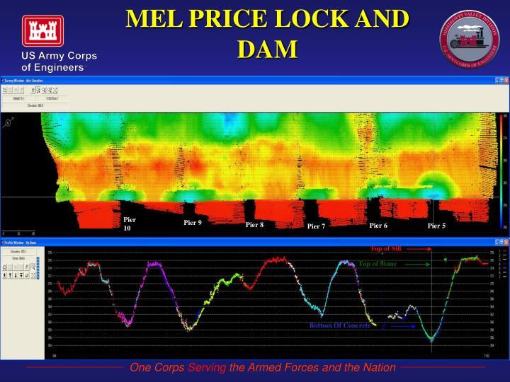 MEL PRICE LOCK AND DAM