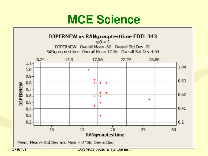 MCE Science