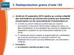 3 radioprotection grains d iode 1251