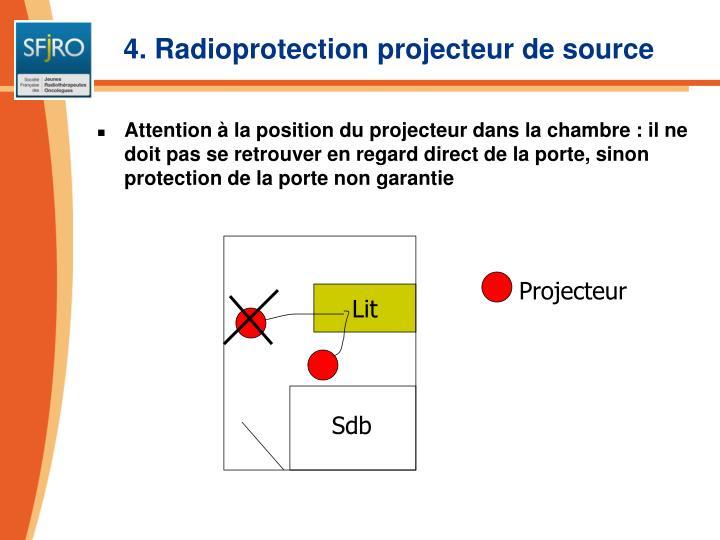 4. Radioprotection projecteur de source