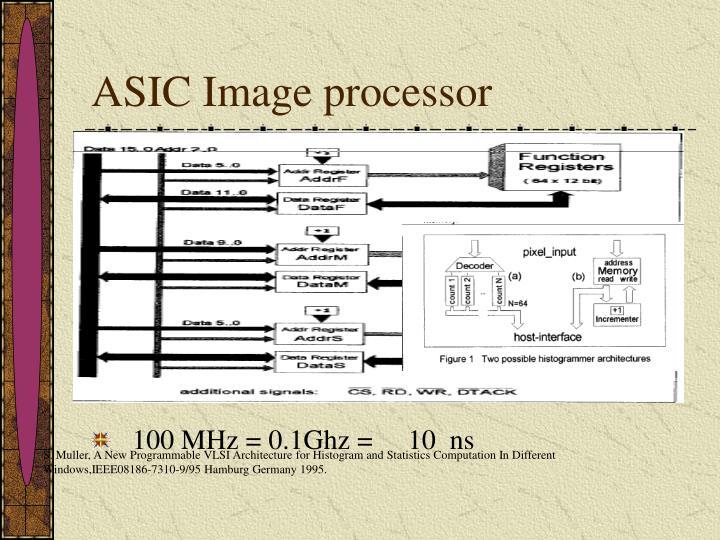 ASIC Image processor