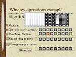 window operations example1