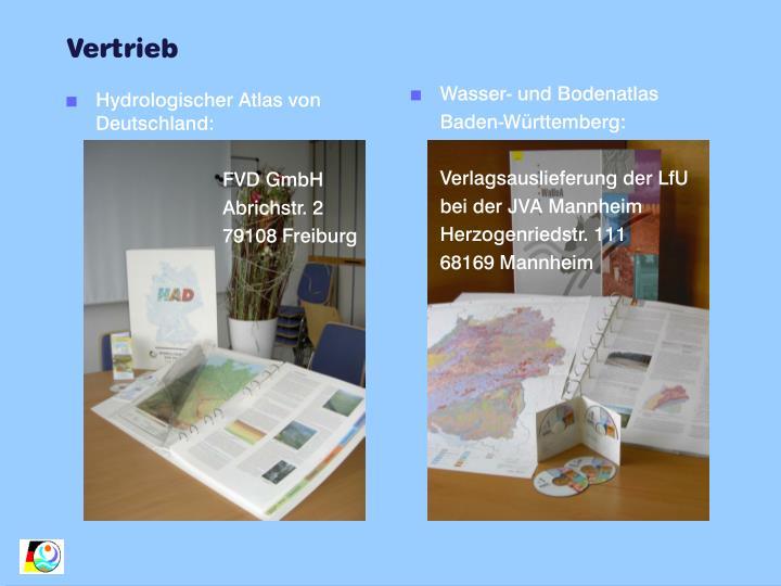 Hydrologischer Atlas von Deutschland: