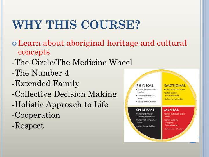WHY THIS COURSE?