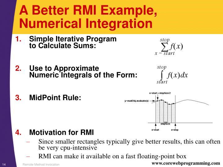 A Better RMI Example,