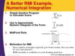 a better rmi example numerical integration