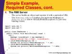 simple example required classes cont2