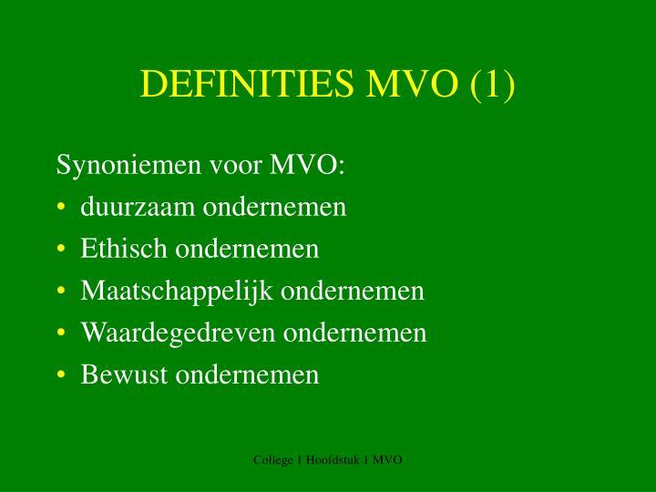 DEFINITIES MVO (1)