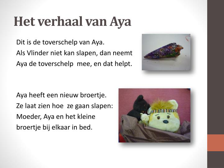 Het verhaal van Aya