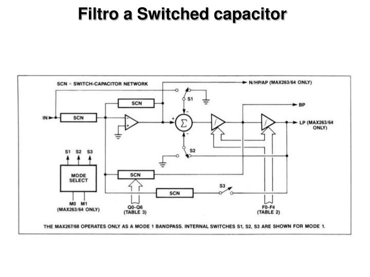 Filtro a Switched capacitor