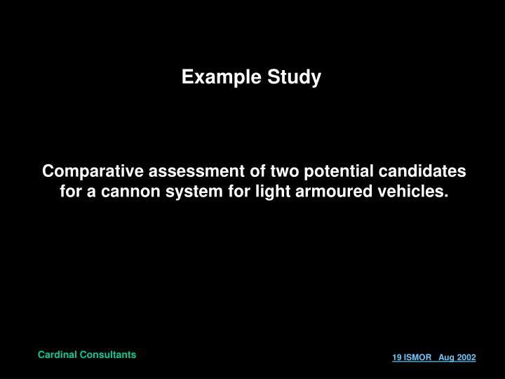 Example Study
