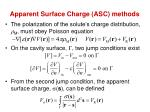 apparent surface charge asc methods